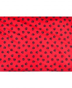 Paws Waterproof Dog Mats from uk red