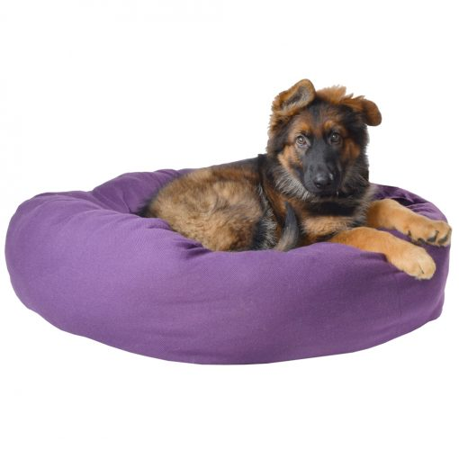 Standard Donut Pet Bed Purple Storm