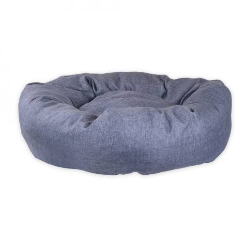 Standard Donut Pet Bed Denim Blue UK dog beds