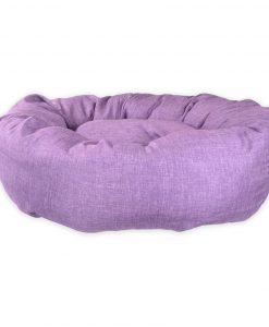 Standard Donut Pet Bed uk Purple dog bed