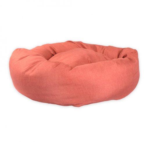 Standard Donut Pet Bed uk Terracotta dog bed