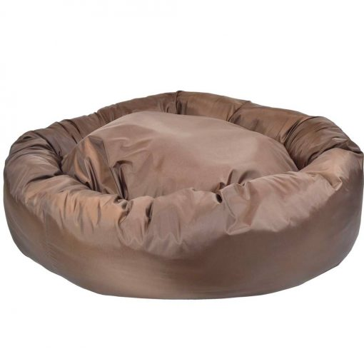 Waterproof Donut Bed brown dog bed uk