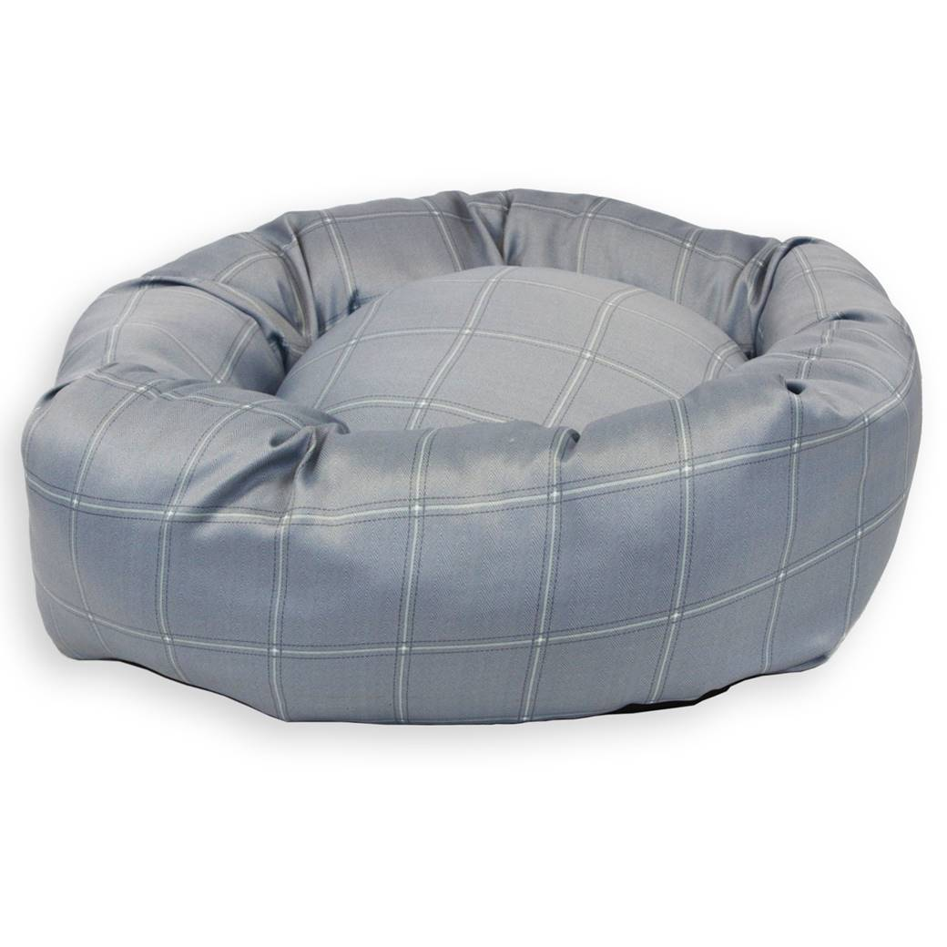 Jersey Grey Donut Dog Bed Pet Beds Direct