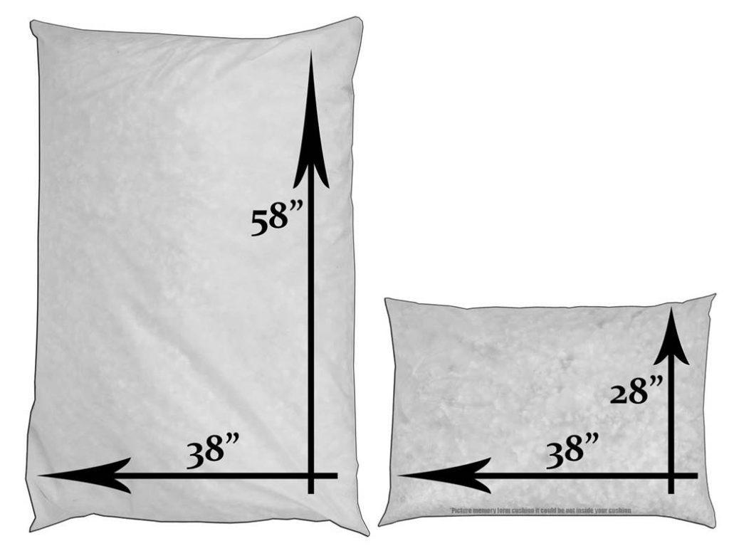 cushion sizes dog beds