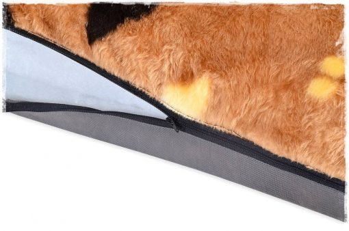 PETBEDSDIRECT fur Paws Dog Mats brown