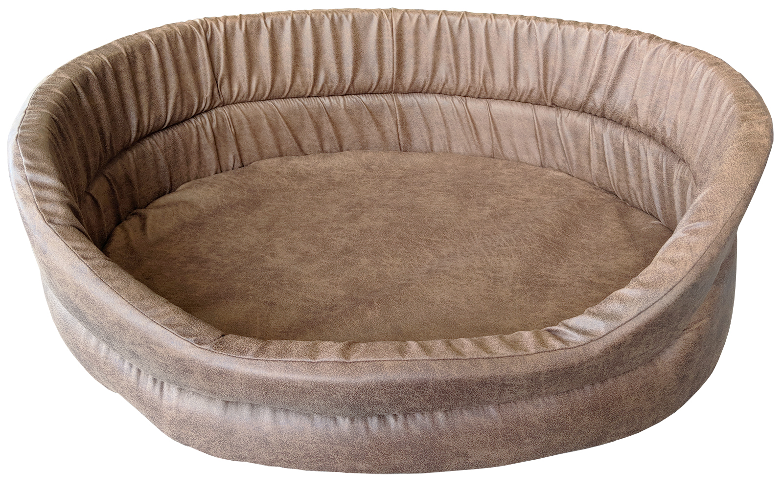 Eco Faux Leather 4 Donut Beds Wholesale Pet Beds Direct