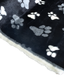 material fur paws for dog beds
