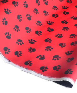 material paws for dog beds