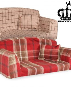 royal pet sofa mulberry red dog beds