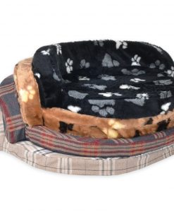 contemporary cabriole mix DOG BED