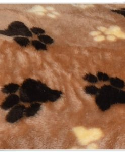 fur paws ring sofa brown