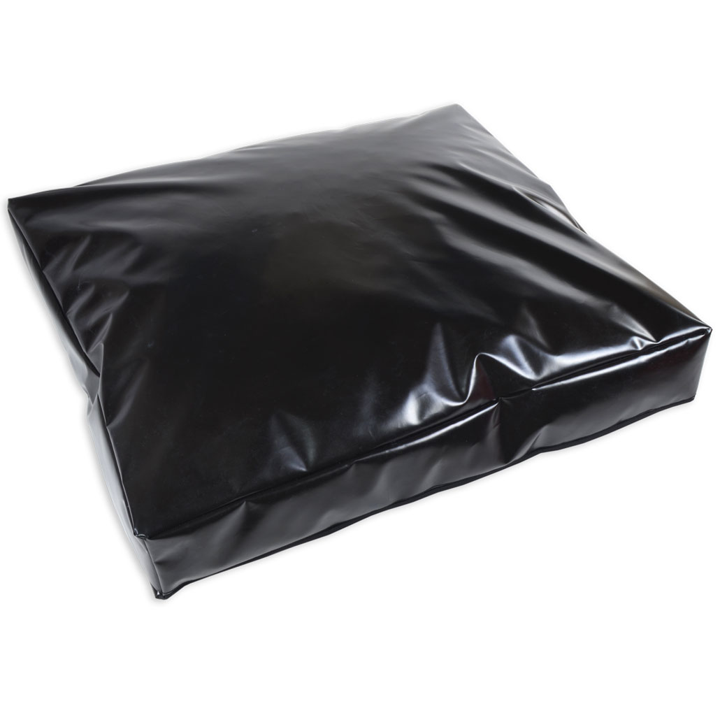 Black Waterproof Slumber Pet Cushion Pet Beds Direct