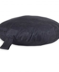 Seude black Circlar pillow DOG BED