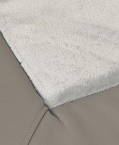 Plush bone mat DOG BED