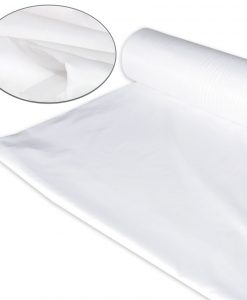 Poly Cotton Fabric Plain White Polyester Cotton
