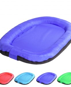 oval purple 1 DOG BED