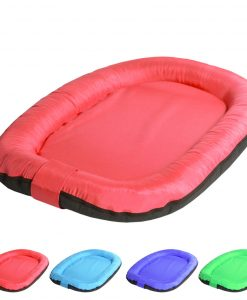 oval red 1 DOG BED