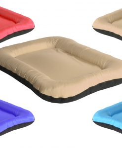 square beige 1 DOG BED