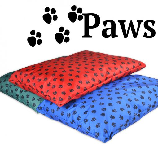 paws waterproof dog bed pillow